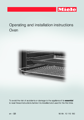 miele operating manual for model h4890b2