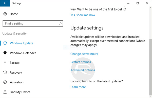 how to download windows 10 april update manually
