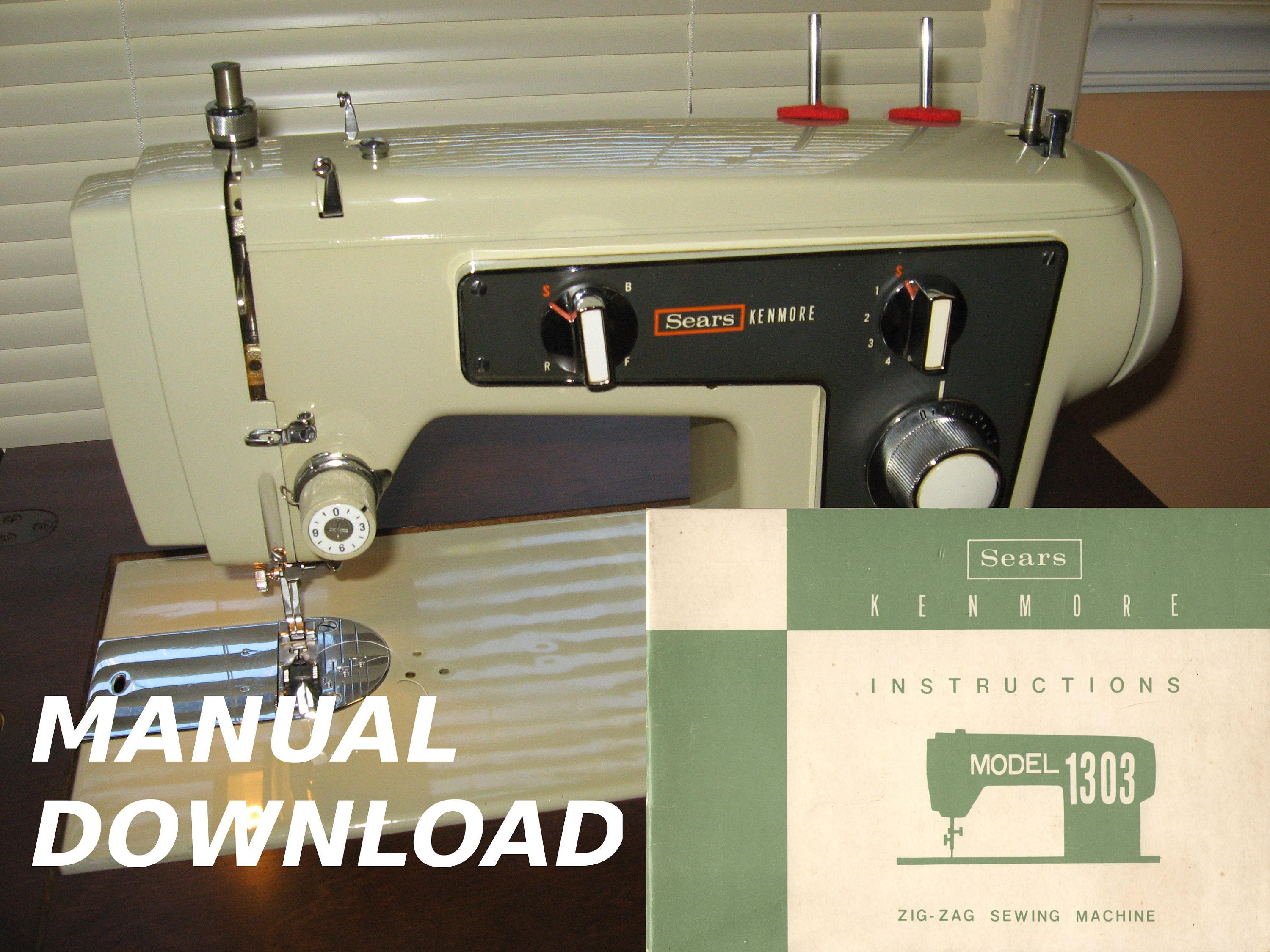 kenmore model 1320 instruction manual