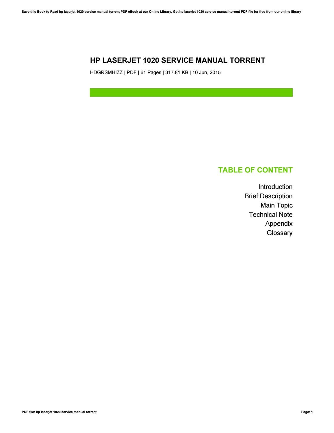 hp j6500a service manual torrent