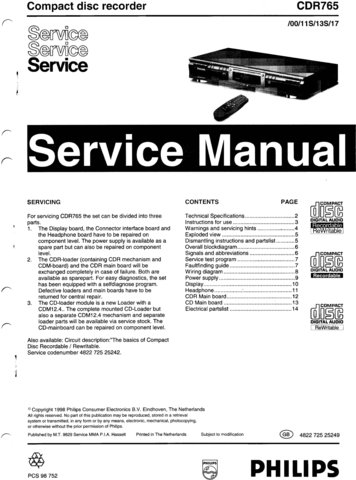 philips model fw-c399 37 service manual